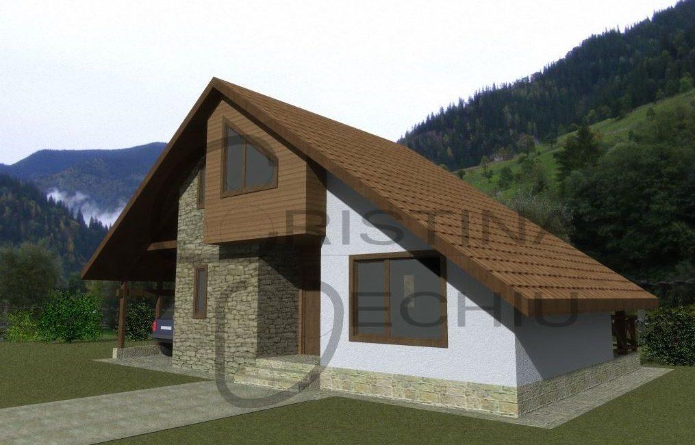 Casa lemn 53mp