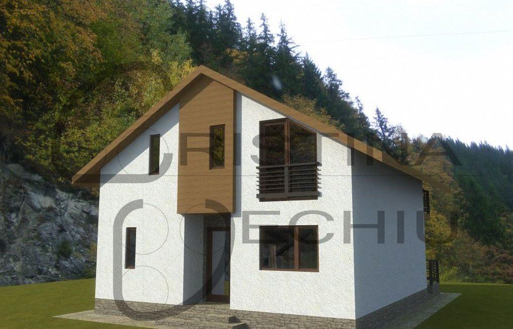 Proiect structura lemn 65mp