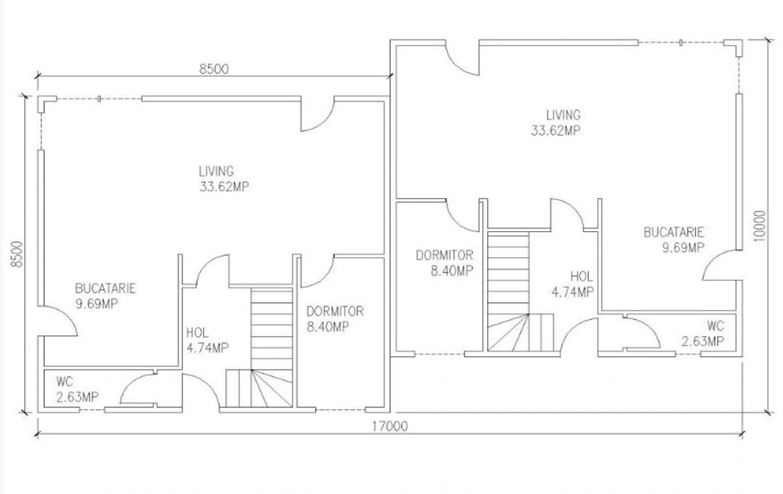 Casa lemn 144mp