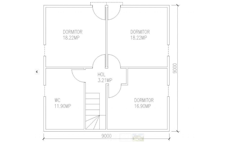 Casa lemn 162mp