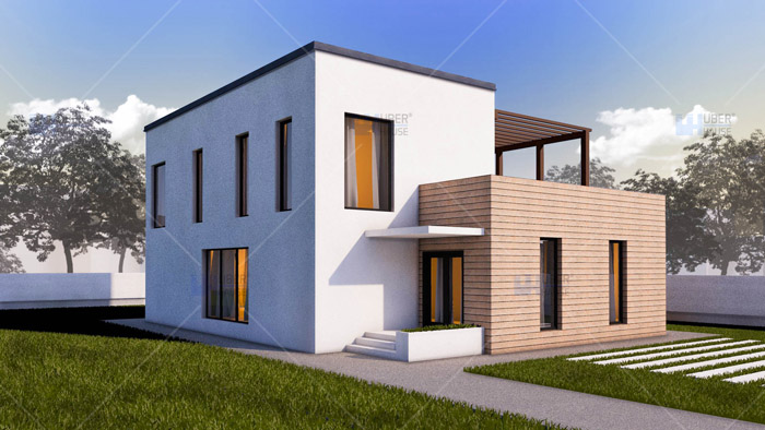 Casa parter + etaj (185 mp) – Arya