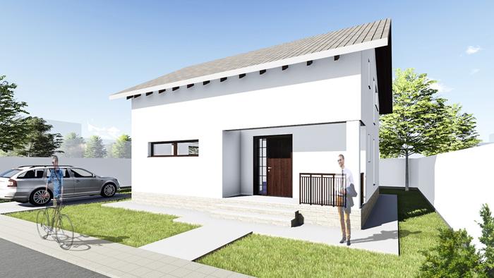 Casa parter + mansarda (110 mp) – Allena