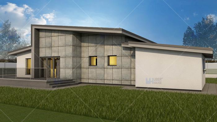 Proiect casa parter (109 mp) – Adona
