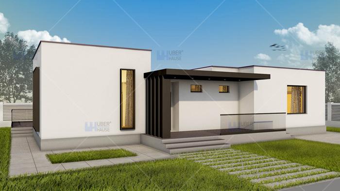 Proiect casa parter (102 mp) – Campina