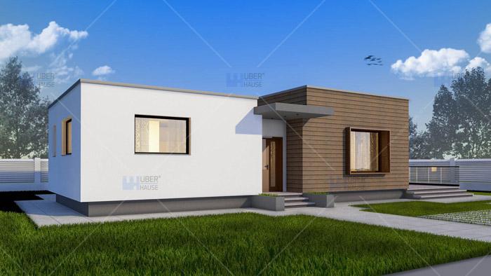 Proiect casa parter (128 mp) – Gliso