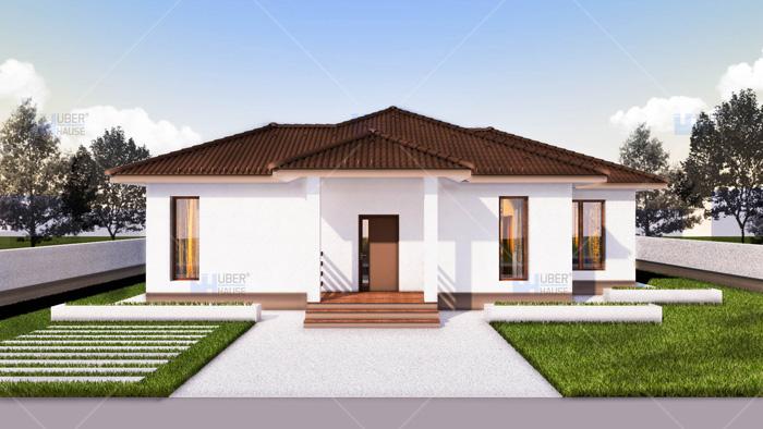 Proiect casa parter (112 mp) – Rovenna