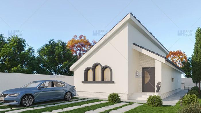 Proiect casa parter (90 mp) – Kaleida