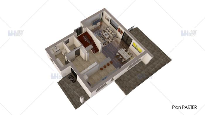 Casa parter + etaj (171 mp) – Atena