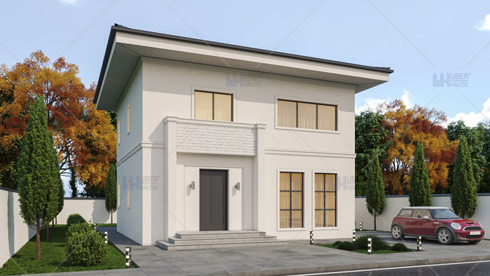 casa parter + etaj (130 mp) – Sorenta