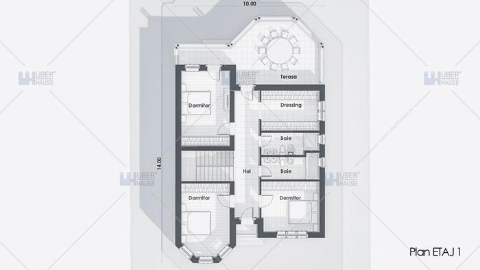 Casa parter + etaj (190 mp) - Sierra