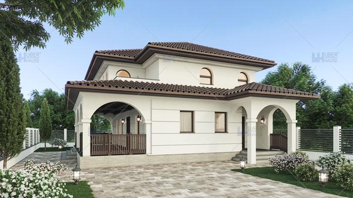 Proiect casa parter + etaj (107 mp) – Ronia
