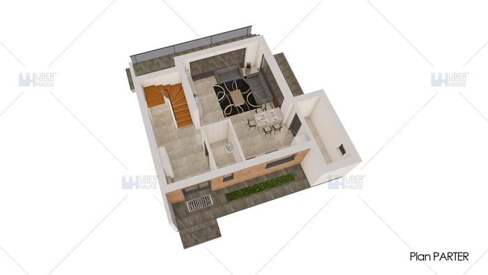 Casa parter + mansarda (124 mp) – Reyna