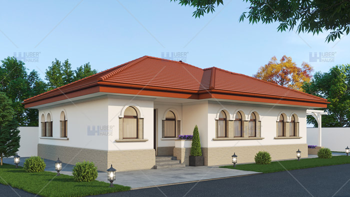 Proiect casa parter (110 mp) – Lydia