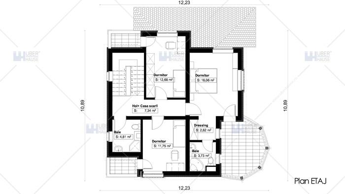 casa parter + etaj (144 mp) – Towera
